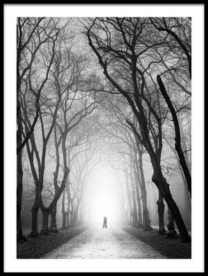 Art print titled Cyclist by the artist Martin Rak