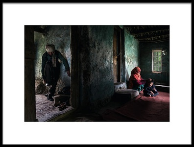 Buy this art print titled Dad Is Coming by the artist Fadhel Almutaghawi