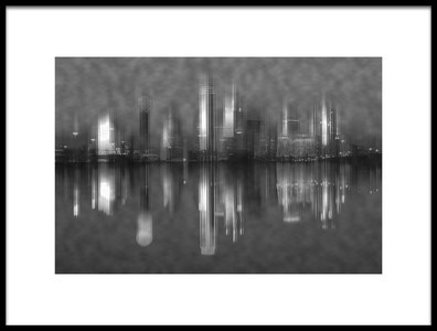 Buy this art print titled Dallas Reflection by the artist Shirley Shen