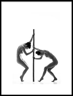 Art print titled Dance by the artist JAE