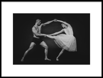 Buy this art print titled Dance Duet 1 by the artist James Yang