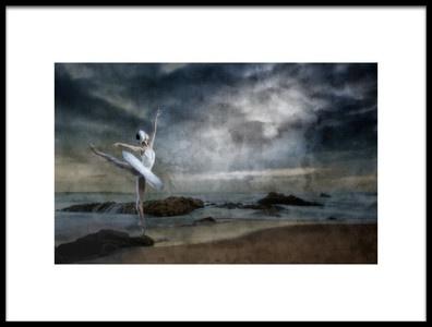 Art print titled Dance Like Nobodys Watching by the artist Peet van den Berg