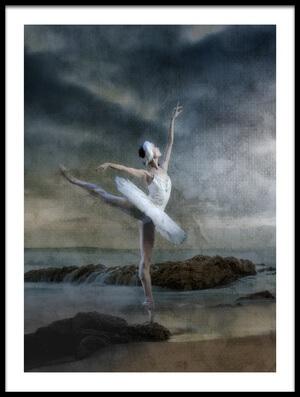 Art print titled Dance Like Nobody's Watching by the artist Peet van den Berg