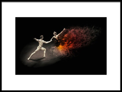 Art print titled Dance With the  by the artist Zoltan Tot