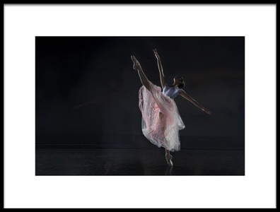 Buy this art print titled Dancer by the artist Libby Zhang