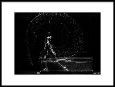 Buy this art print titled Dancer In the Water by the artist John Yi ZHANG
