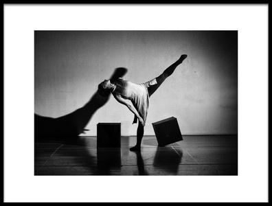 Art print titled Dancing Alone by the artist Rob Li