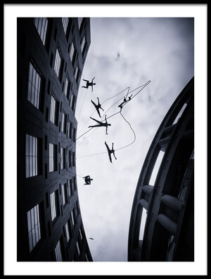 Art print titled Dancing In the Air by the artist Jianwei Yang