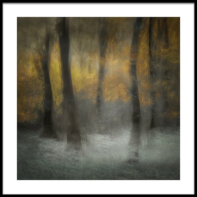 Art print titled Dancing Trees by the artist Nel Talen