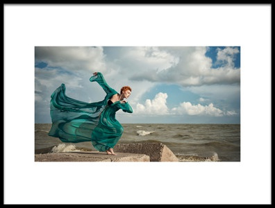 Art print titled Dancing With the Wind by the artist Anna