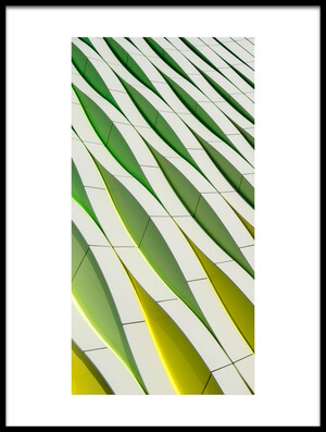 Buy this art print titled Dancing Yellow and Green by the artist Gerard Jonkman