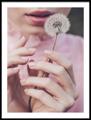 Buy this art print titled Dandelion by the artist Dorota Gorecka