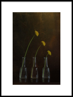 Art print titled Dandelion Family 2 by the artist Galina Bunkova
