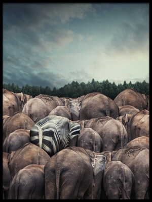 Buy this art print titled Dare to Be Different by the artist hardibudi