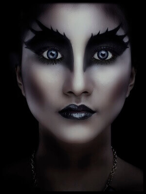 Art print titled Dark Beauty by the artist Ardhi Graft