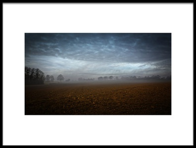 Art print titled Dark Day by the artist Gilles Gourmaud