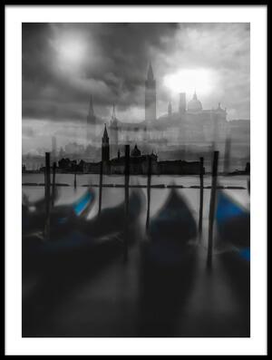 Art print titled Dark Mood by the artist Carmine Chiriacò
