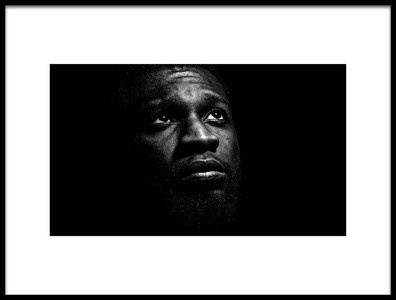 Buy this art print titled Dark Portrait by the artist Igor Fotso
