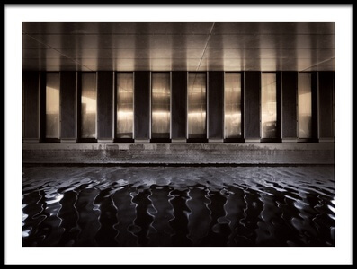 Art print titled Dark Ripple by the artist Henk van Maastricht