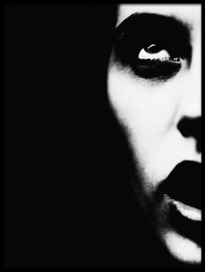 Art print titled Darkness by the artist erkan camlilar