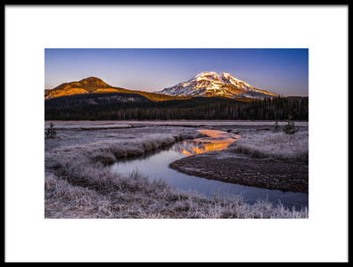 Art print titled Daybreak by the artist Andreas Agazzi