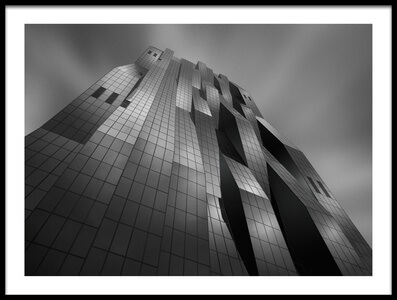 Art print titled DC-Tower by the artist Jo Vittorio