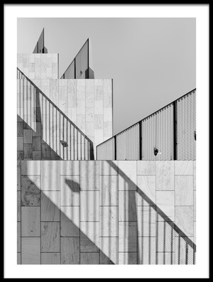 Art print titled Dealing With Shadows by the artist Jeroen van de Wiel