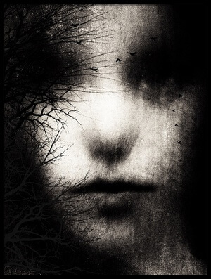 Buy this art print titled Dear Darkness by the artist Byka Artography