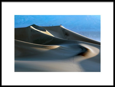 Art print titled Death Valley by the artist Libby Zhang