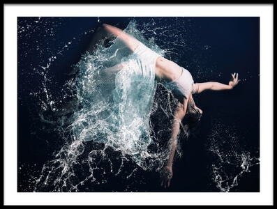 Art print titled Deep Sea by the artist Daisuke Kiyota
