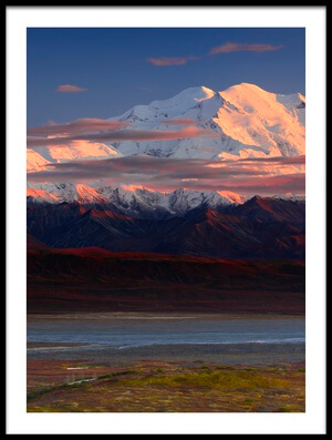 Art print titled Denali National Park by the artist Roberto Marchegiani