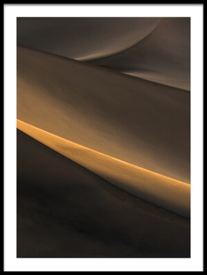 Buy this art print titled Desert by the artist Ann Du