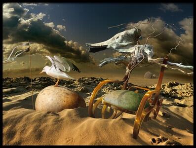 Art print titled Desert Fantasy by the artist Radoslav Penchev