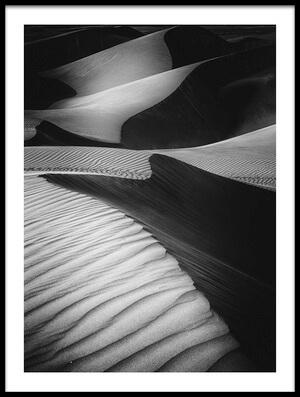 Art print titled Desert Light by the artist Rami Al Adwan