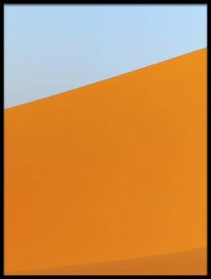 Buy this art print titled Desert Minimalist by the artist Massimo Mei