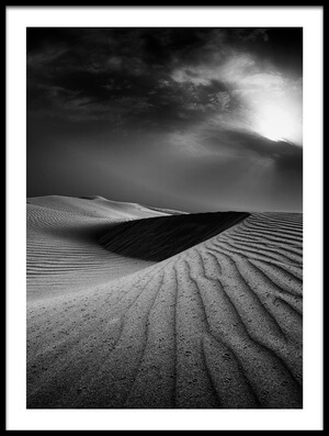 Buy this art print titled Desert Rain by the artist Robert Work