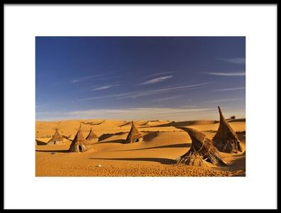 Buy this art print titled Desert Village by the artist Ivan Slosar