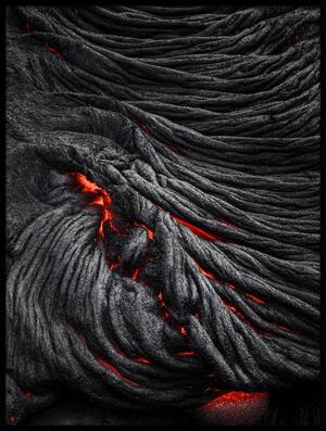 Art print titled Devil's Eye by the artist Jerrywangqian