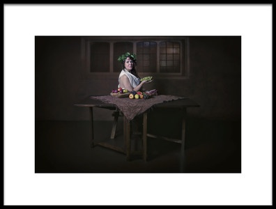 Art print titled Dinner Time by the artist Carola Kayen-Mouthaan