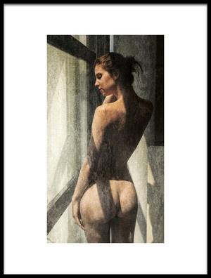 Art print titled Dirty Window Pane by the artist Jan Slotboom