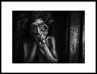 Art print titled Disable by the artist Adichandra38