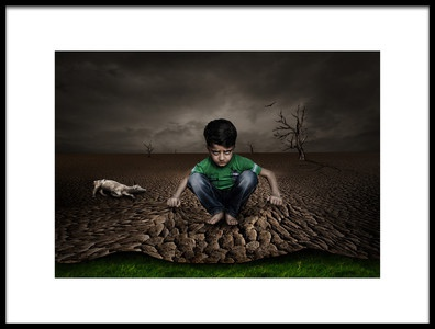 Art print titled Disappointment by the artist Deniz Ener
