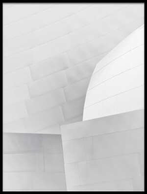 Buy this art print titled Disney Concert Hall #1 by the artist David Rothstein
