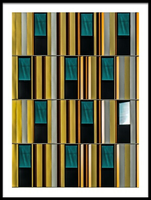 Art print titled Dissident Window by the artist Luc Vangindertael (laGrange)