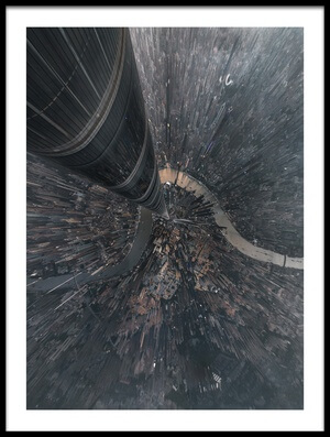Art print titled Dive Into the Matrix by the artist Stan Huang