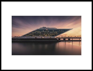 Art print titled Dockland by the artist Alexander Schönberg