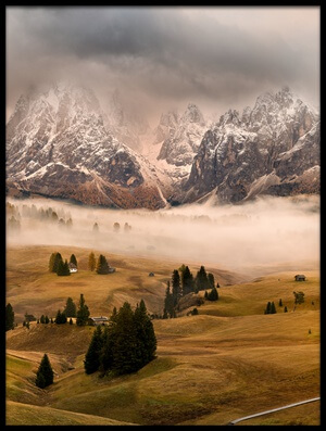 Buy this art print titled Dolomites Myths by the artist Marian Kuric