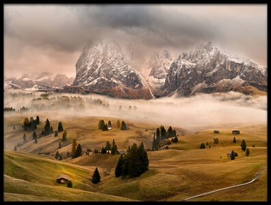 Buy this art print titled Dolomites Myths II by the artist Marian Kuric