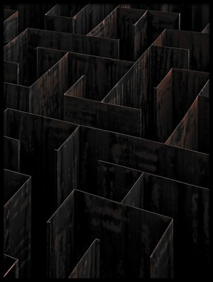 Buy this art print titled Domino Labyrinth by the artist Gilbert Claes