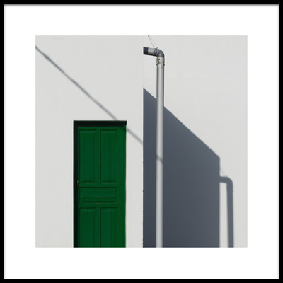 Art print titled Door by the artist Andreas Bauer